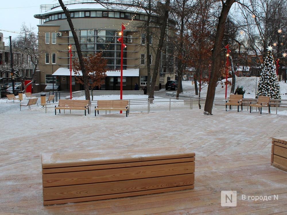 Нижегородцы оценили благоустроенный сквер имени Свердлова - фото 1